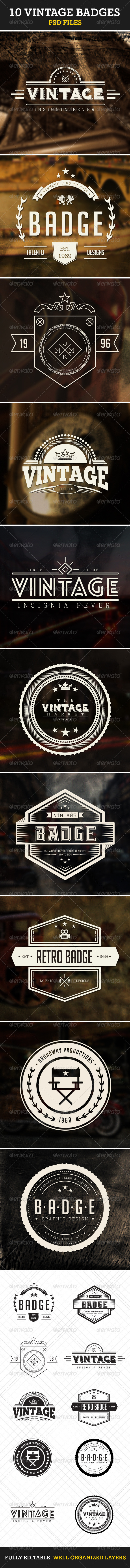 GraphicRiver Retro Vintage Insignias Volume 1 7440087