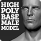 High Polygon Base Human Male Model
