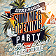 Summer Opening Party Flyer - GraphicRiver Item for Sale