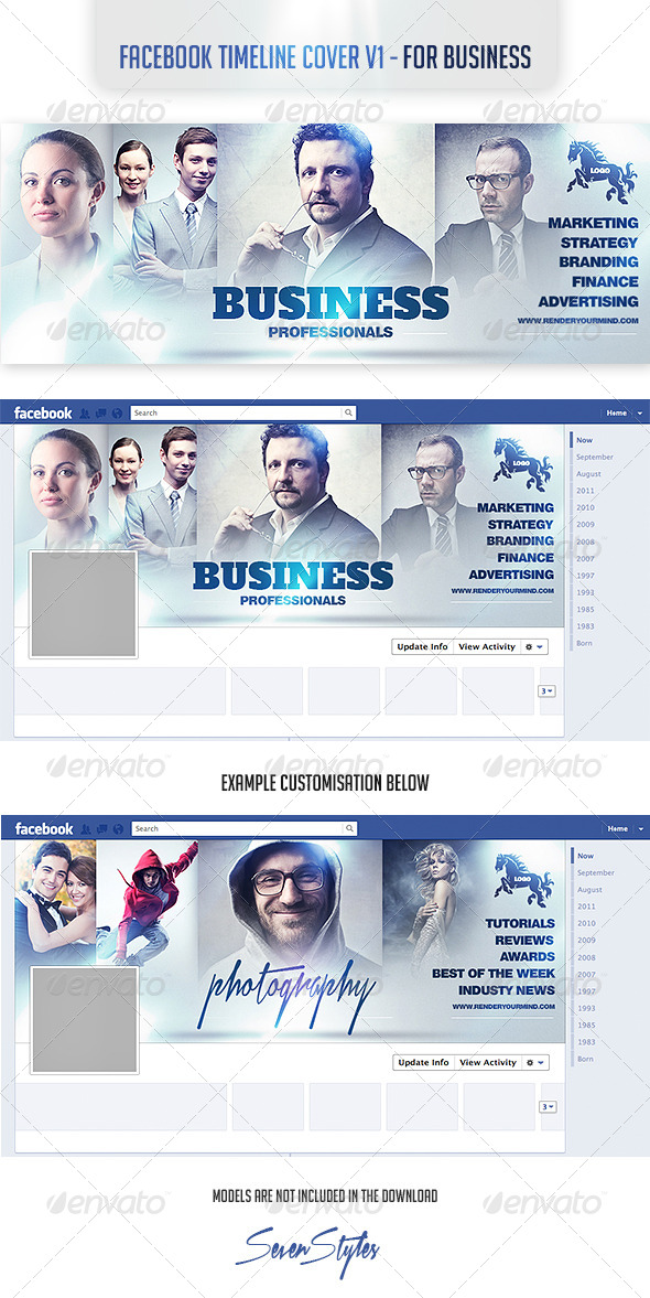 GraphicRiver Facebook Timeline Cover v1- For Business 7440978