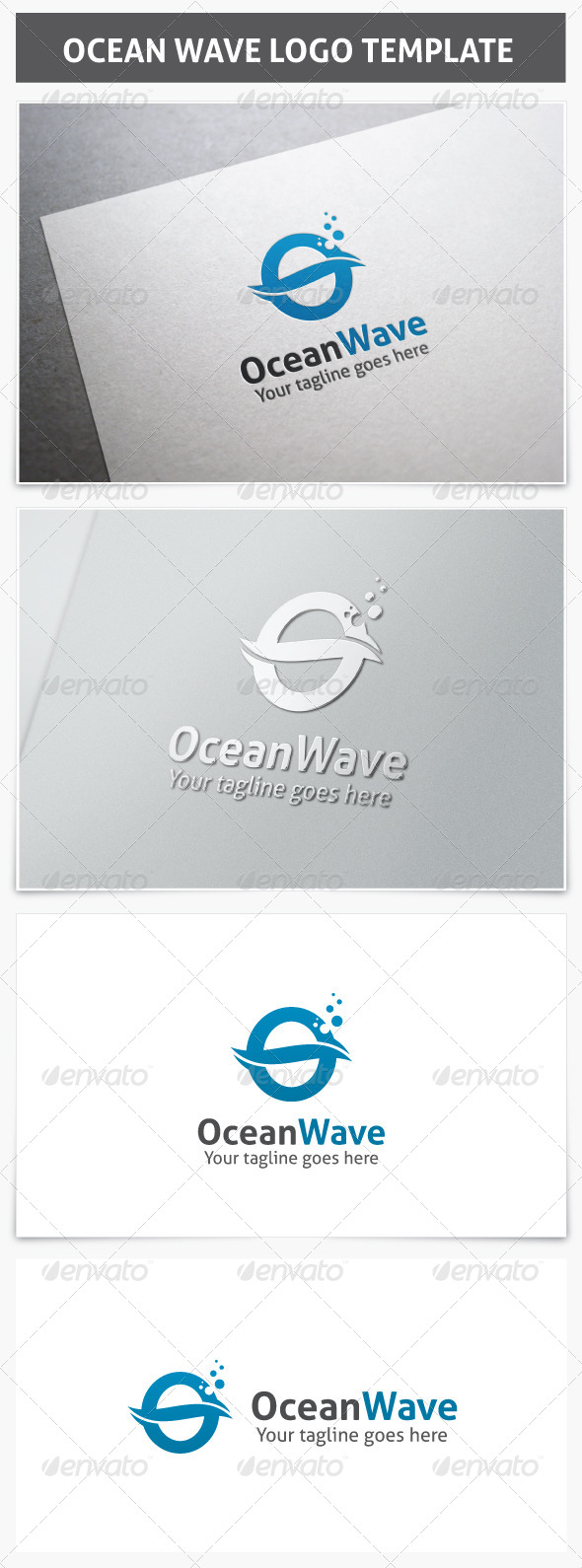 GraphicRiver Ocean Wave Logo 7441341