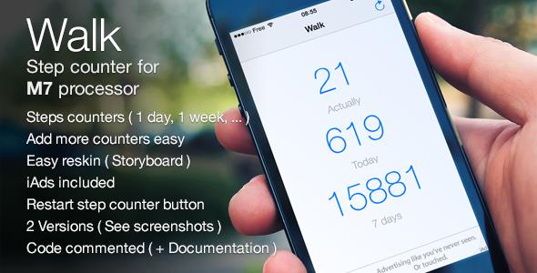CodeCanyon Walk App M7 Works & iAds 7369801