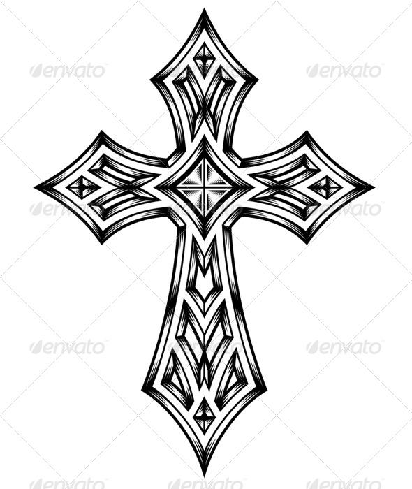 GraphicRiver Heraldic Cross 7441868