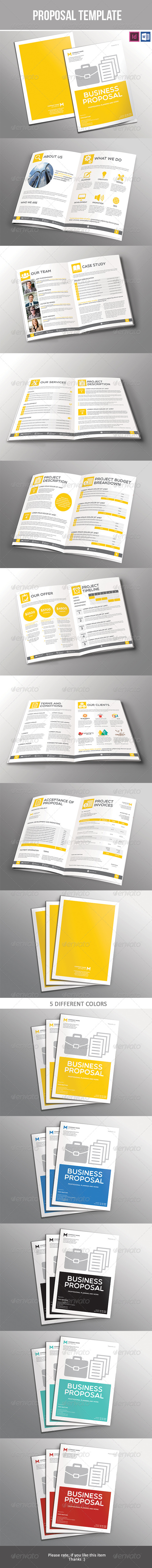 GraphicRiver Proposal Template 7442191