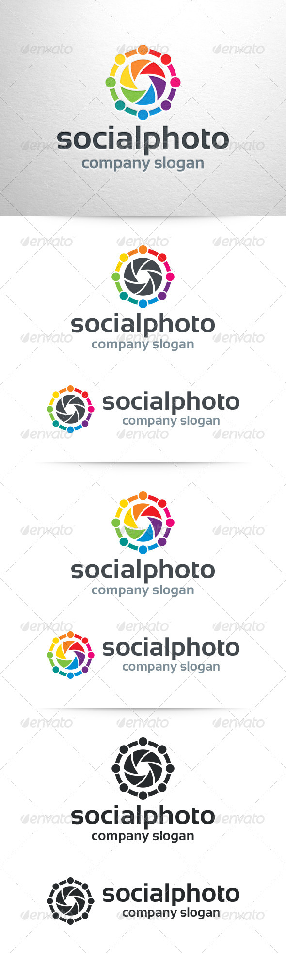 GraphicRiver Social Photo Logo Template 7442328