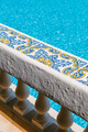 Mediterranean Balustrade in a Swimming Pool - PhotoDune Item for Sale