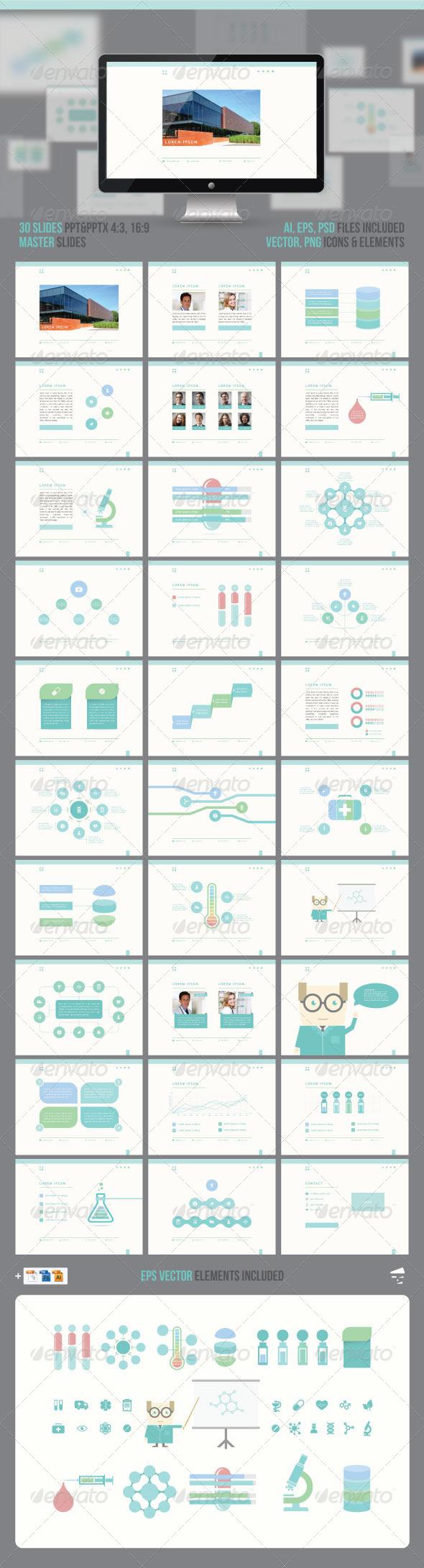 GraphicRiver Medical Professional Presentation 7443037