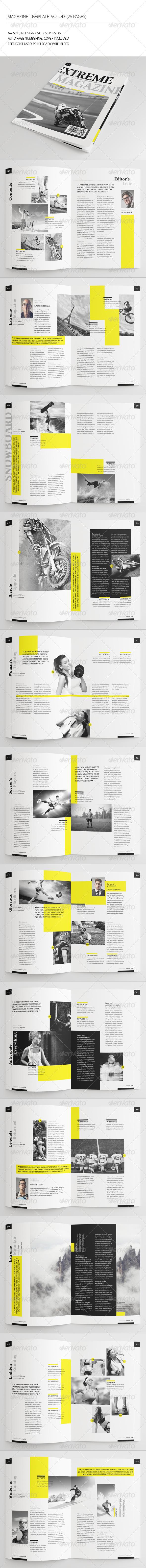 25 Pages Sport Magazine Vol43