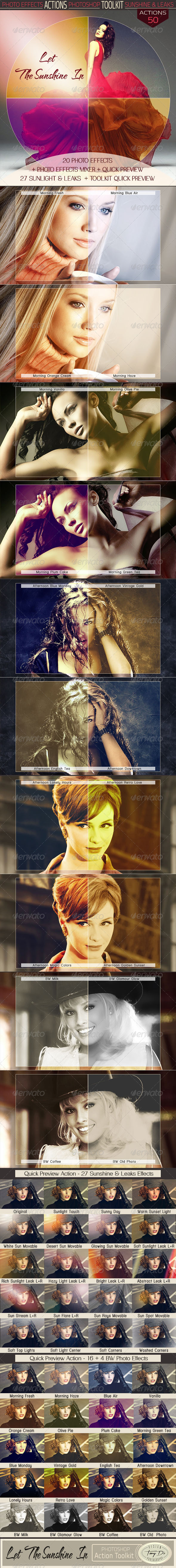 GraphicRiver Let The Sunshine In Action Toolkit 7444983