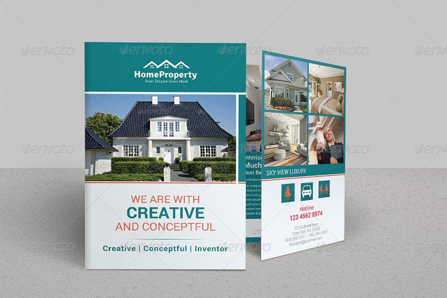 Sample Bi Fold Brochure - Resume Template Ideas