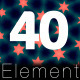 Triangular Elemant ( 40 Pack) - VideoHive Item for Sale