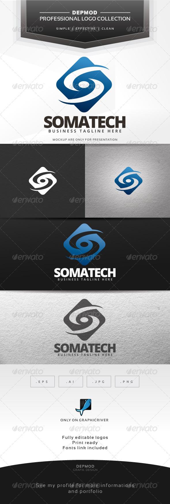 GraphicRiver Somatech Logo 7446764