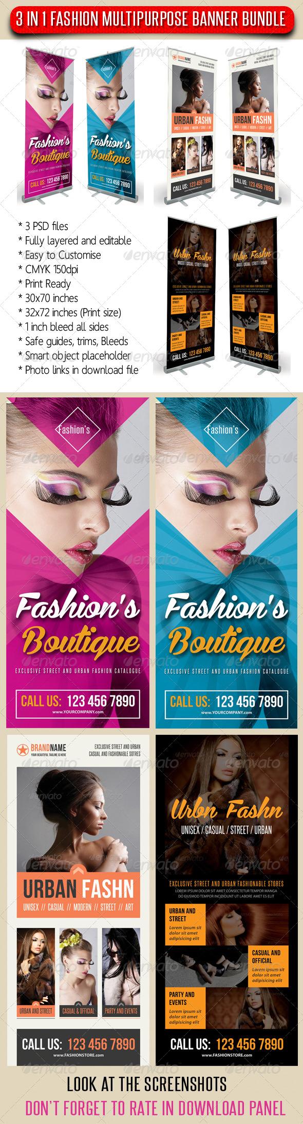 GraphicRiver 3 in 1 Fashion Multipurpose Banner Bundle 10 7440109