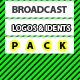 Broadcast Logos & Idents Pack - AudioJungle Item for Sale