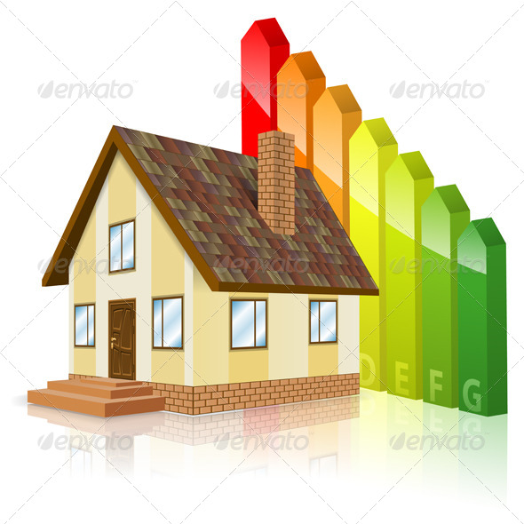 GraphicRiver Home with Energy Efficiency Rating 7448038