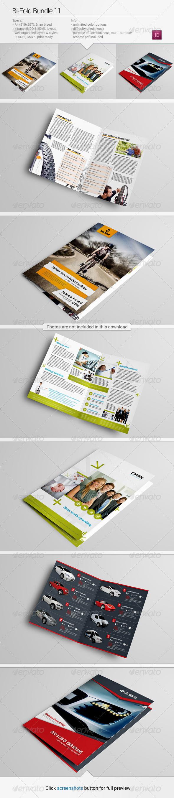 GraphicRiver Bi-Fold Bundle 11 7448447