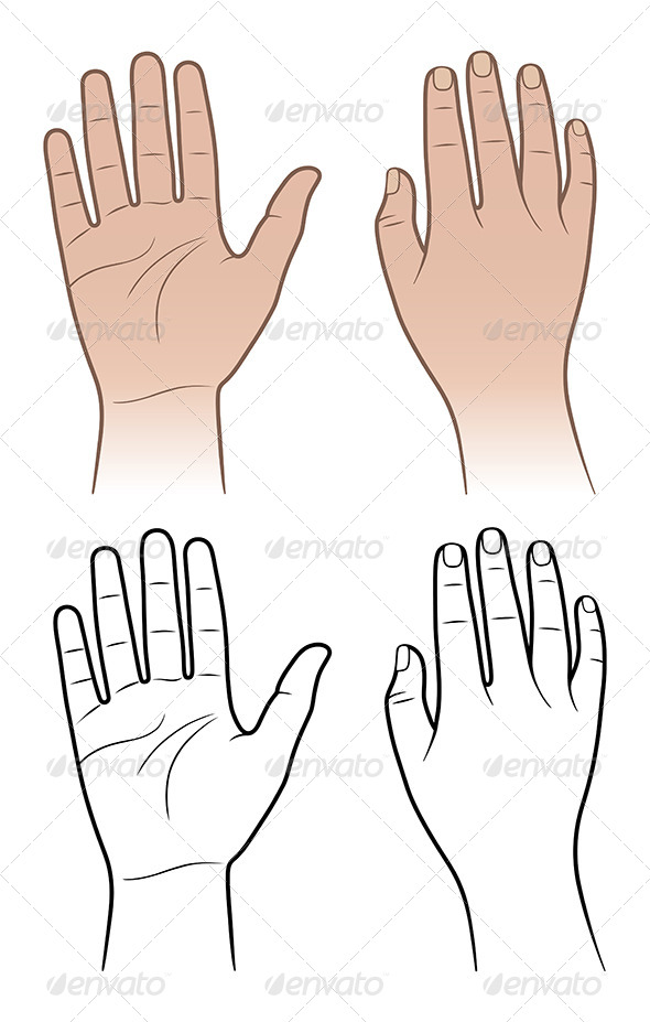 GraphicRiver Woman and Man Hands 7448599