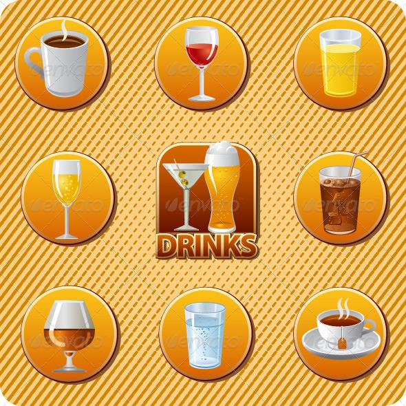 GraphicRiver Drinks Menu 7448924