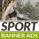 Sport Banner Ads - GraphicRiver Item for Sale