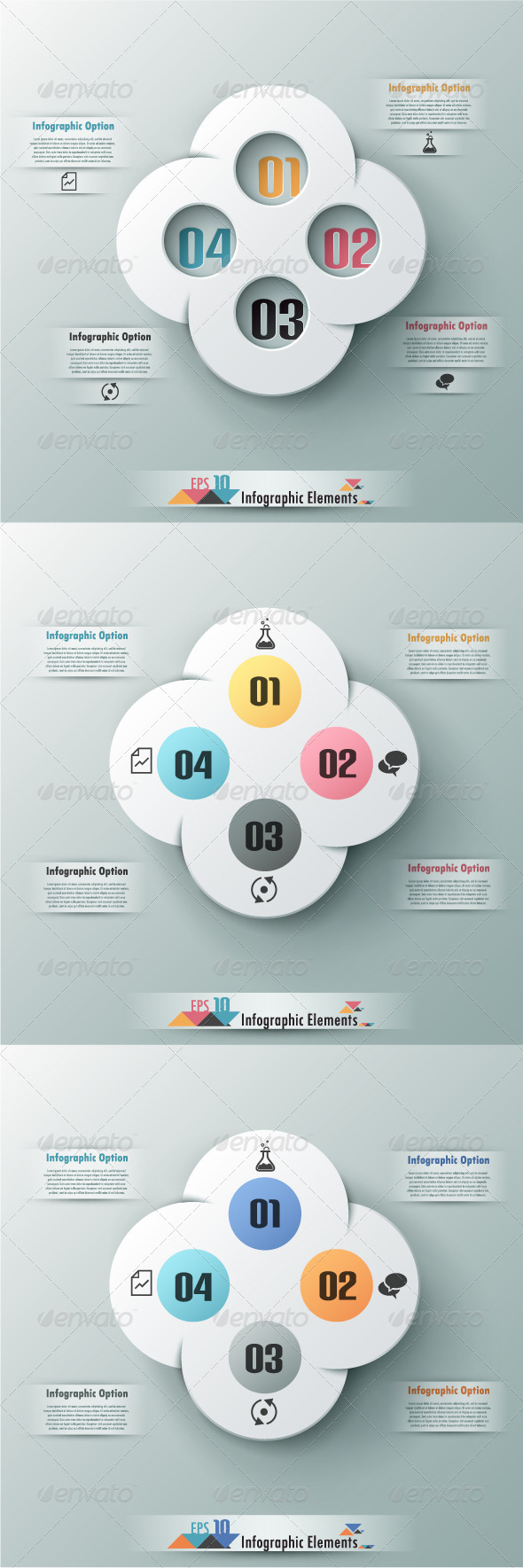GraphicRiver Modern Infographic Options Banner Three Versions 7449363