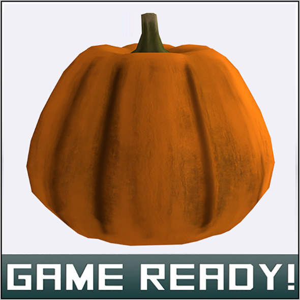 Autumn Pumpkin #2 - 3DOcean Item for Sale