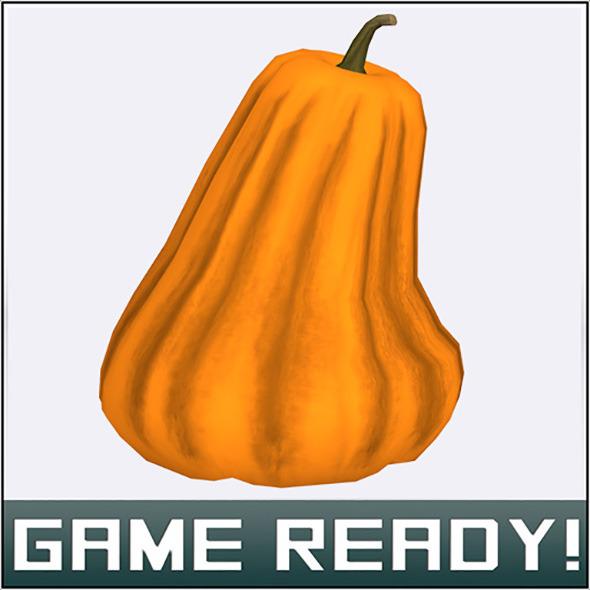 3DOcean Autumn Pumpkin #3 7449997