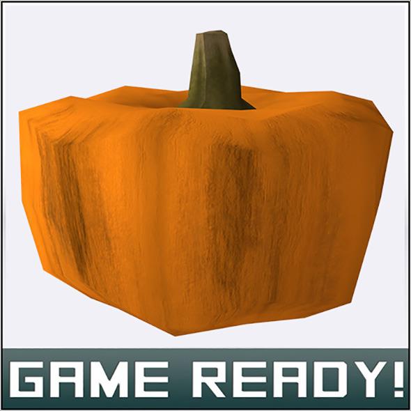 Autumn Pumpkin #4 - 3DOcean Item for Sale