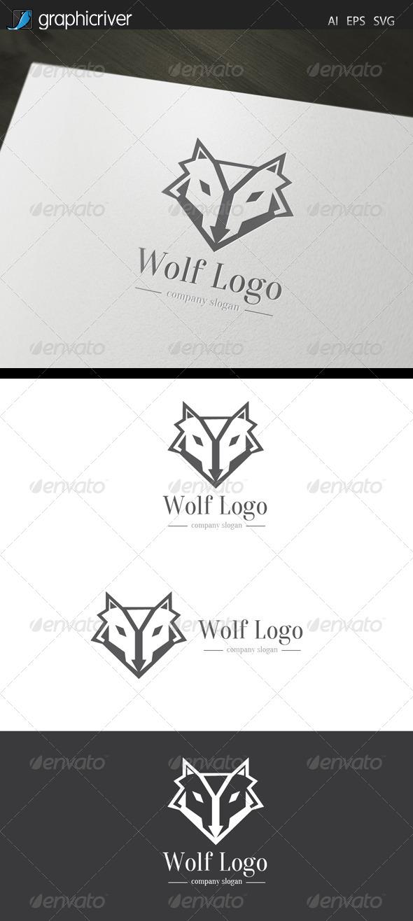 GraphicRiver Wolf Logo 7450256