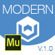 Modern One | Adobe Muse Template
