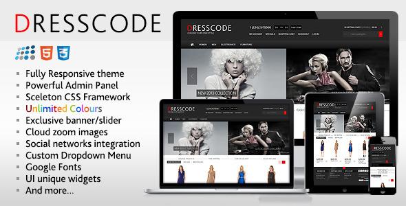 Dresscode - Responsive NopCommerce Theme - Miscellaneous eCommerce