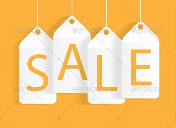 GraphicRiver Sale Banner with Place for Your Text Vector Illustration 7450847