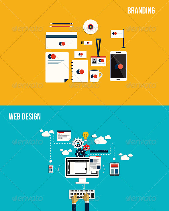 GraphicRiver Icons for Branding and Web Design 7451005