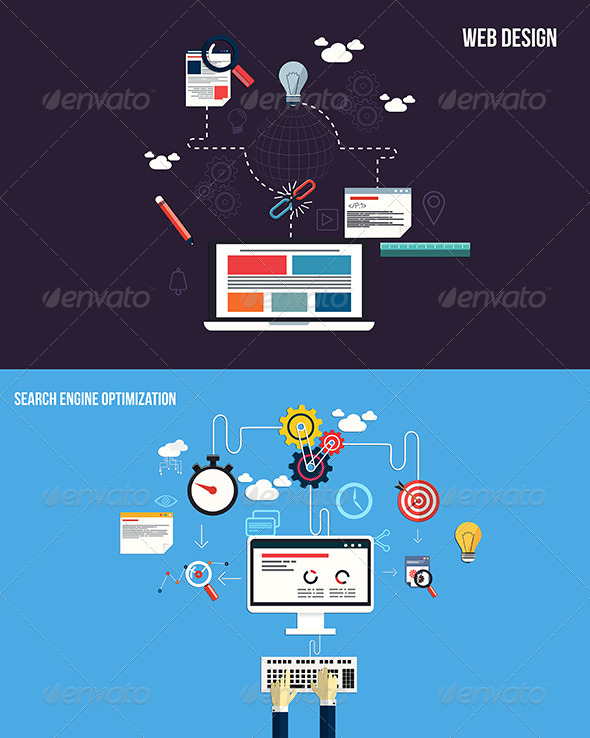 GraphicRiver Icons for Graphics SEO and Web Design 7451074