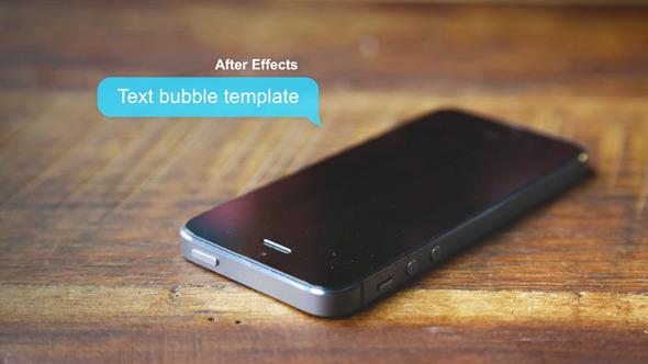 VideoHive Text Bubbles Galore 7451119