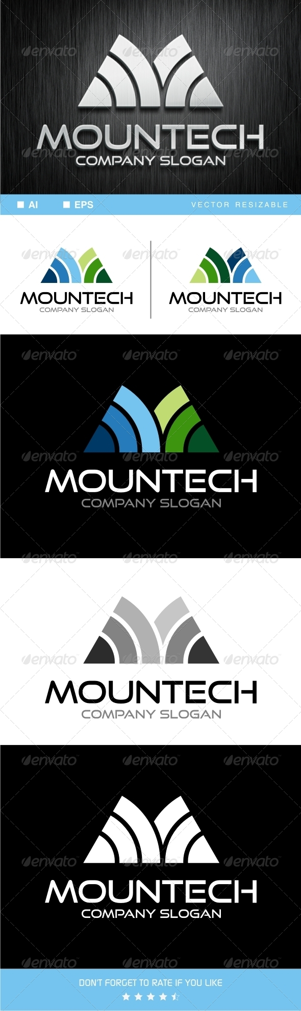 GraphicRiver Mountech Logo Template 7451186