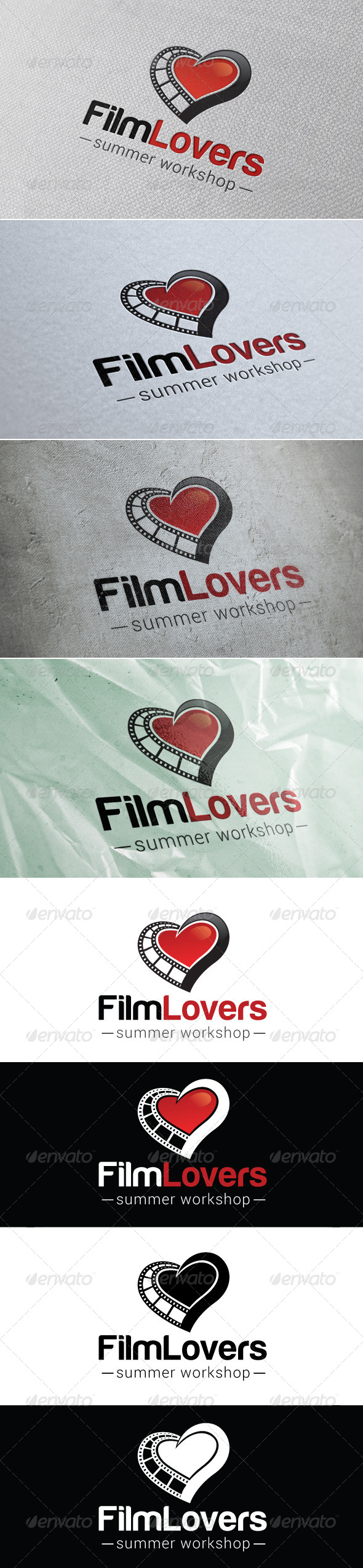 GraphicRiver Film Lovers Logo Template 7451873