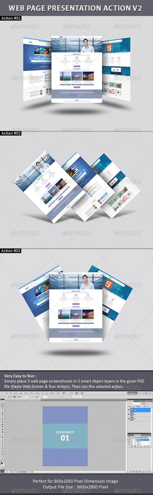GraphicRiver Web Page Presentation Action V2 7450212