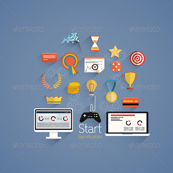 GraphicRiver Gamification in Business 7450831