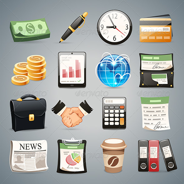 GraphicRiver Business Icons Set1.1 7451211
