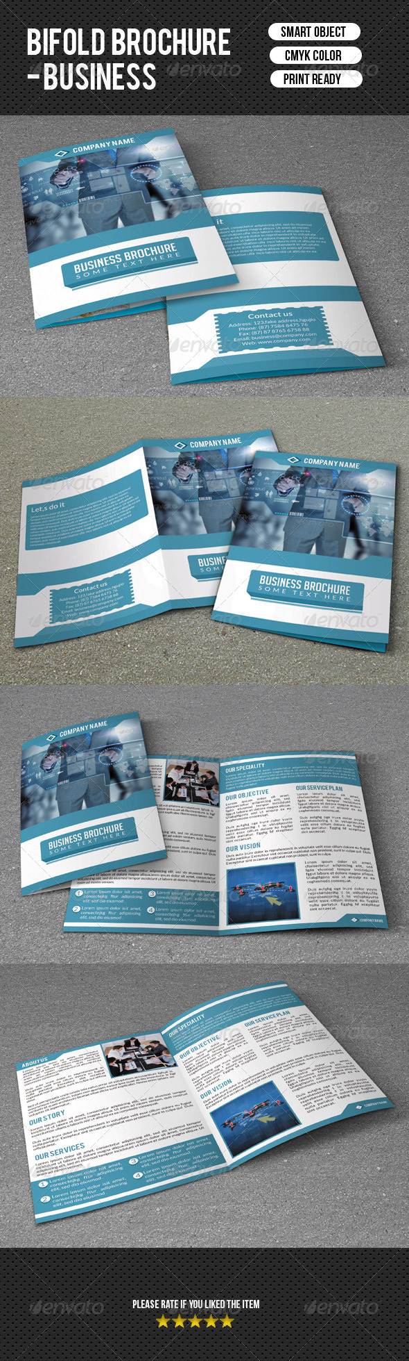 GraphicRiver Business Brochure 7454699