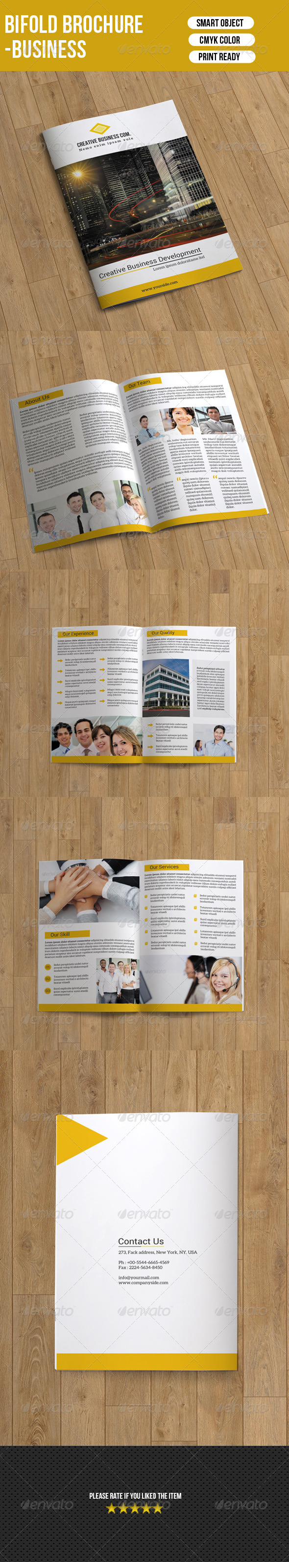 Corporate Brochure Template-8 Pages
