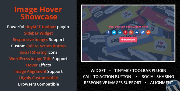 Wordpress Image Hover Showcase - CodeCanyon Item for Sale