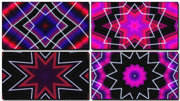 Loops LED Kaleidoscope 4-Pack