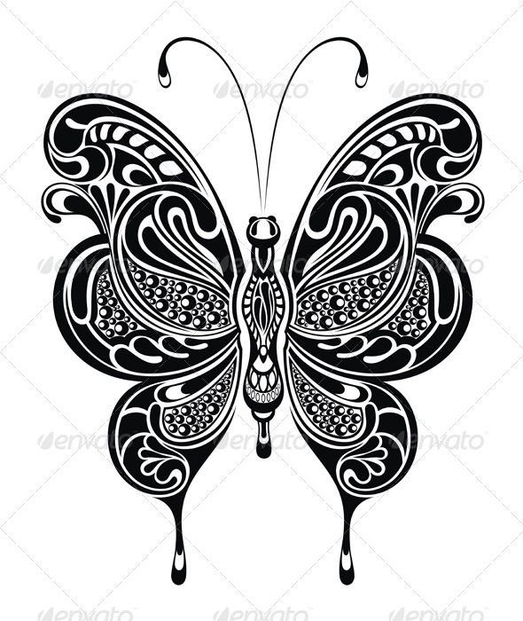 GraphicRiver Butterfly 7456543