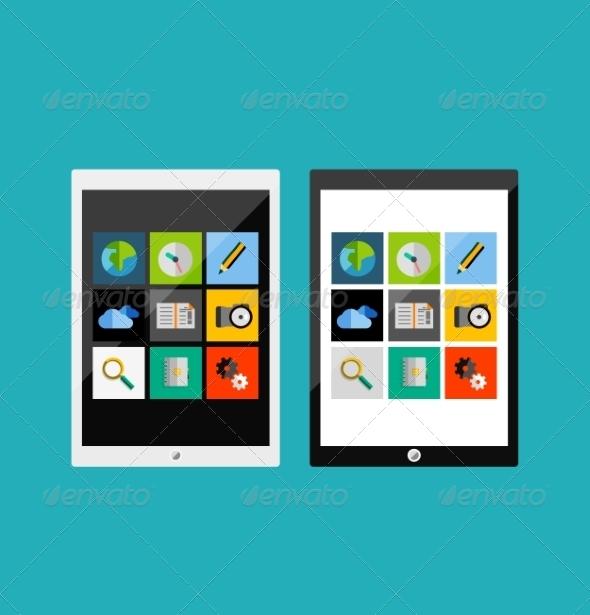 GraphicRiver Flat UI Design 7456601