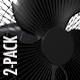 Floor Fan - Dark Metallic - Pack of 2 - VideoHive Item for Sale