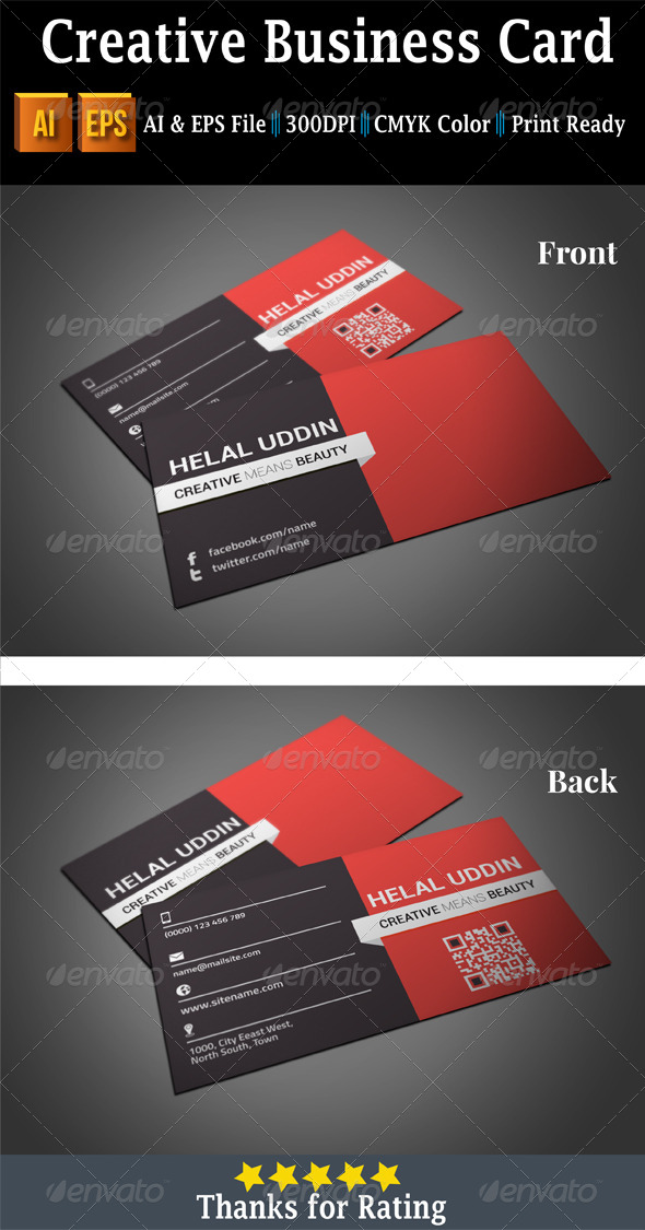GraphicRiver Creative Business Card 7456864