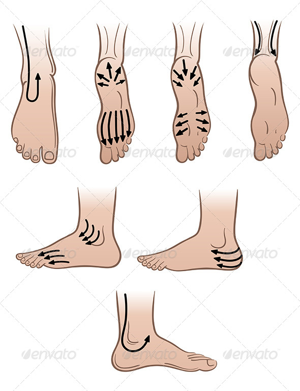 GraphicRiver Closeup Man Feet with Massaging Lines 7457565