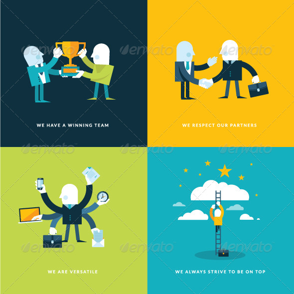 GraphicRiver Concept Icons 7457845