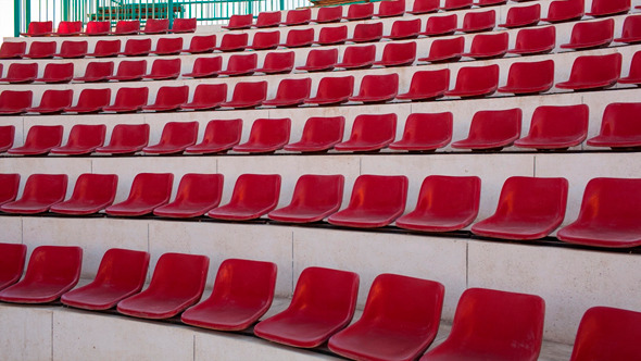 Empty Red Seats in Amphiater
